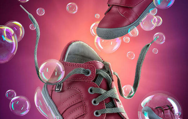 Dusan Holovej - product and advertising photography - GUGENIO KIDS SHOES BUBBLES